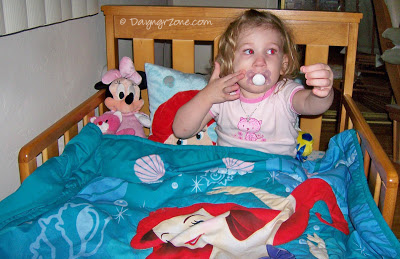 big girl bed, little mermaid bedsheets