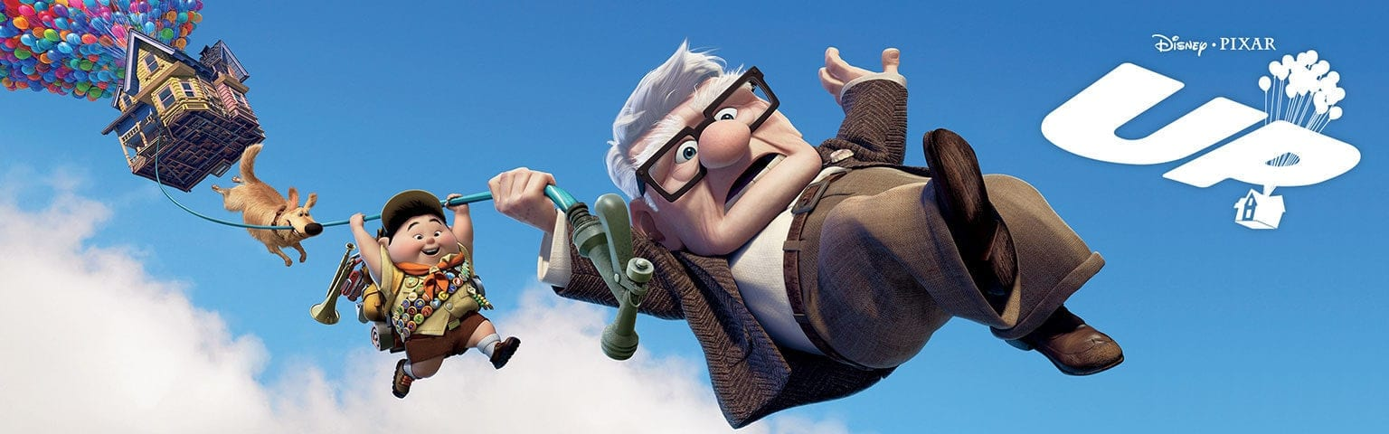 DIsney Pixar's Up, Up the movie, UP
