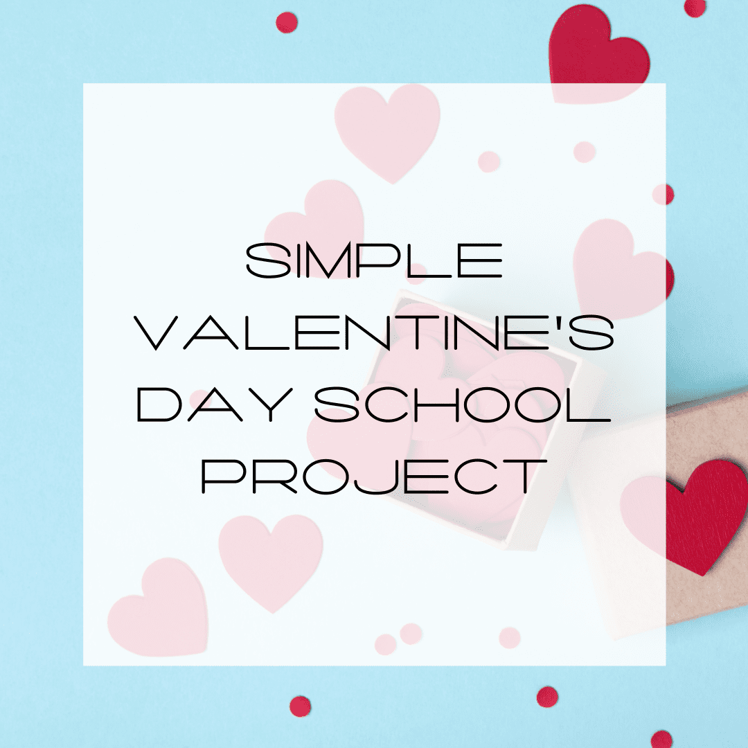 Blog title for simple Valentine's Day school project