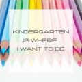 blog title Kindergarten