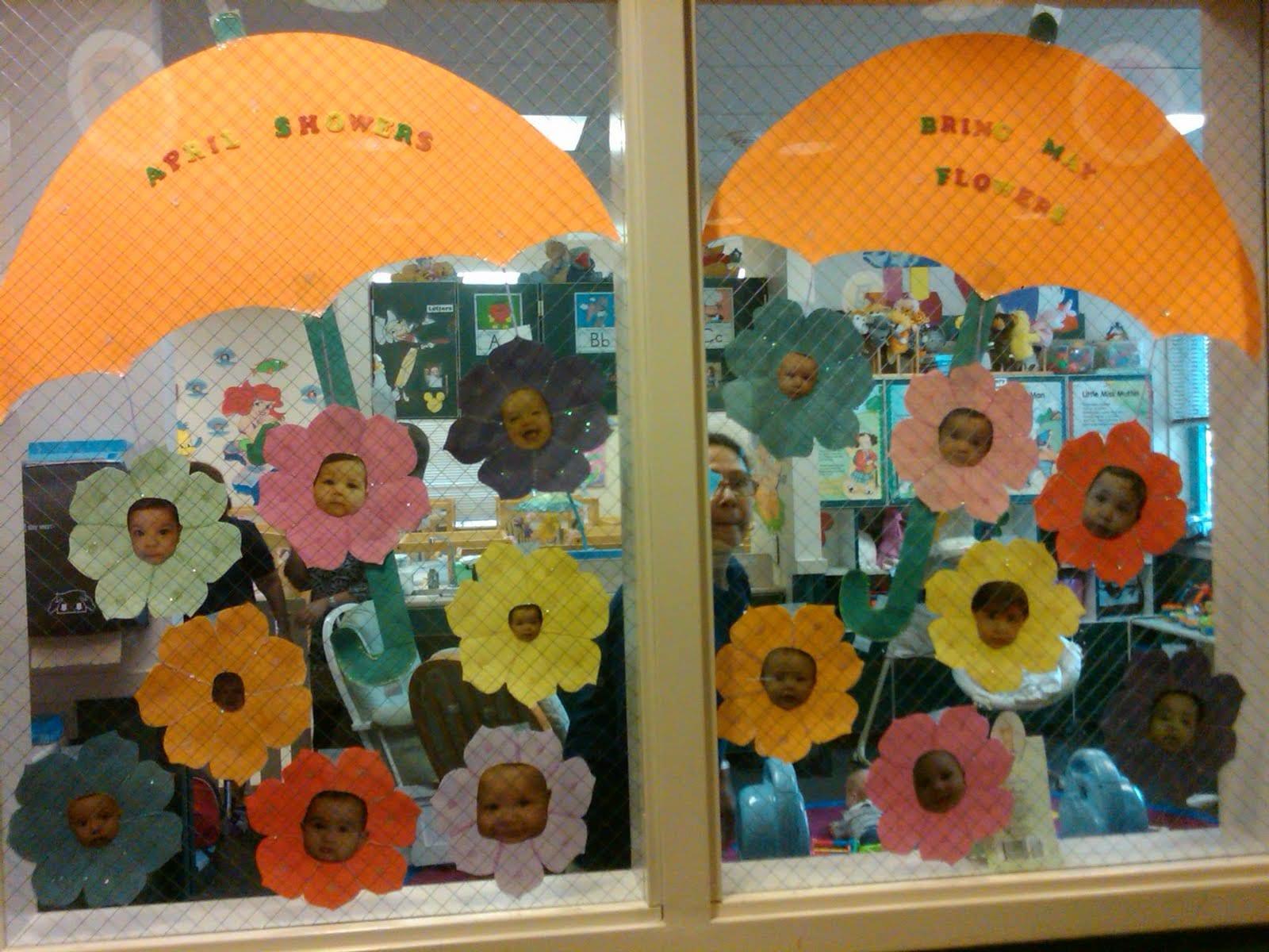 Preschool Window Decorations