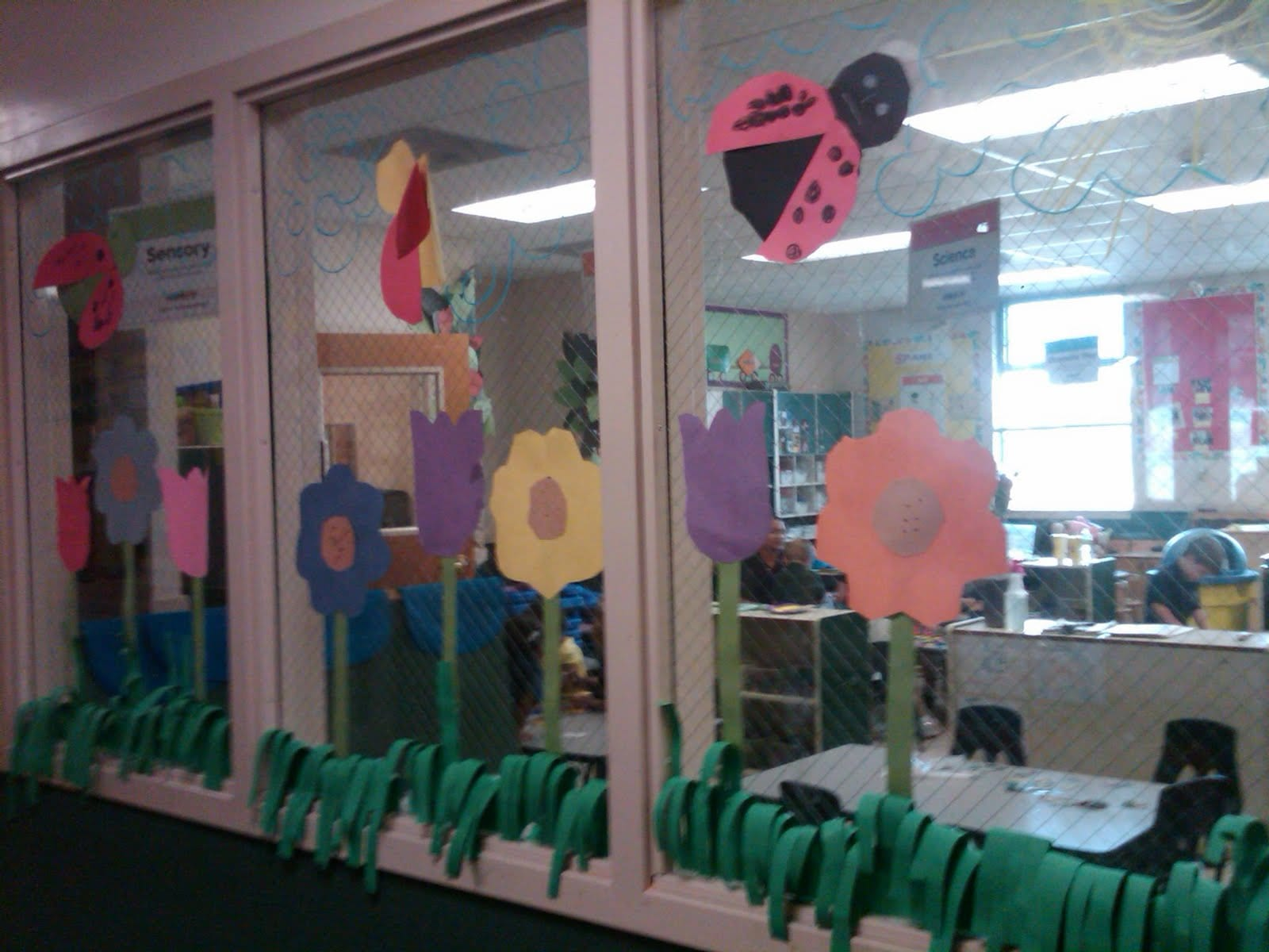 Window Decorations for National Teachers Appreciation Week