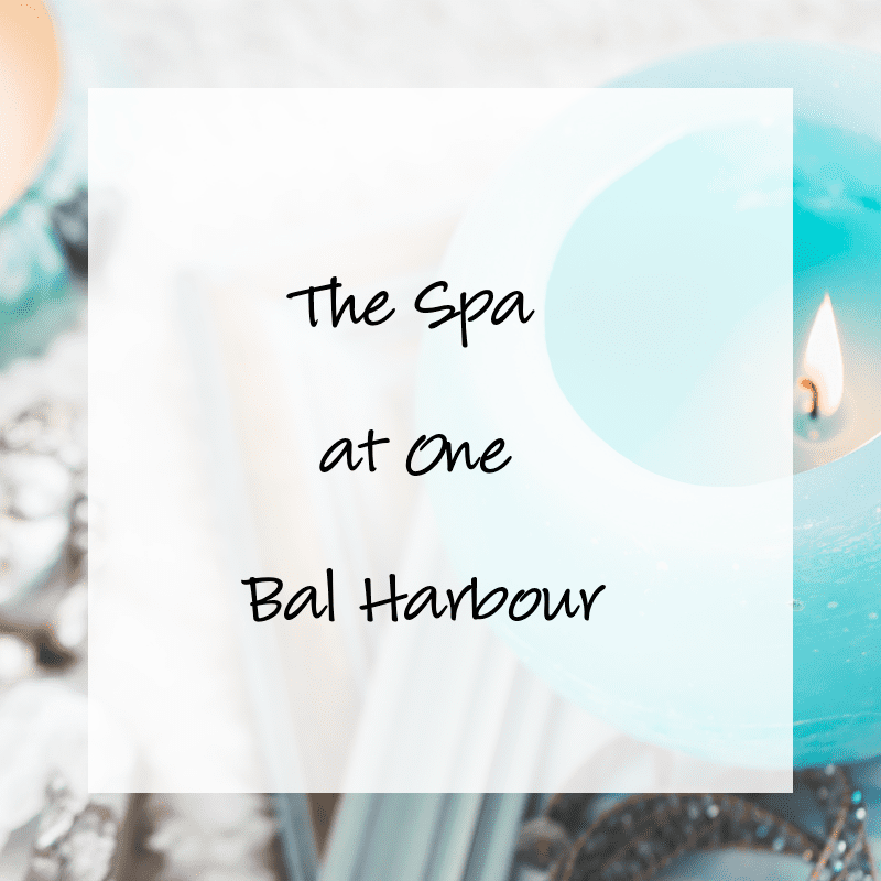 Bal Harbour's The Spa