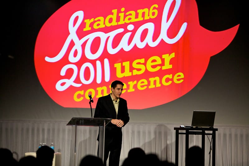 Marcel LeBrun, Social 2011, Radian6