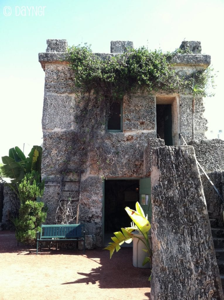 The coral castle museum in MIami
