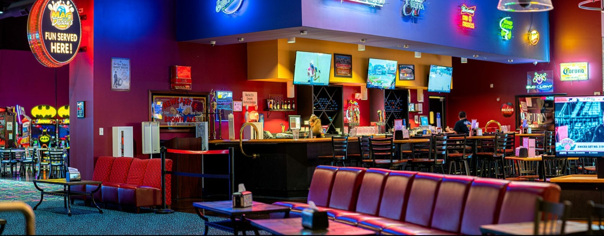 Crystal Coast Bar, Arcade and Bar