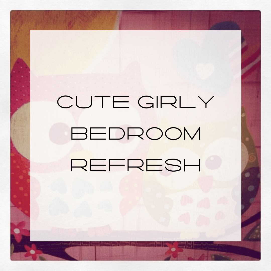 Cute Girly Bedroom Refresh, Daughter's Room Decor, decorating a little girl's room