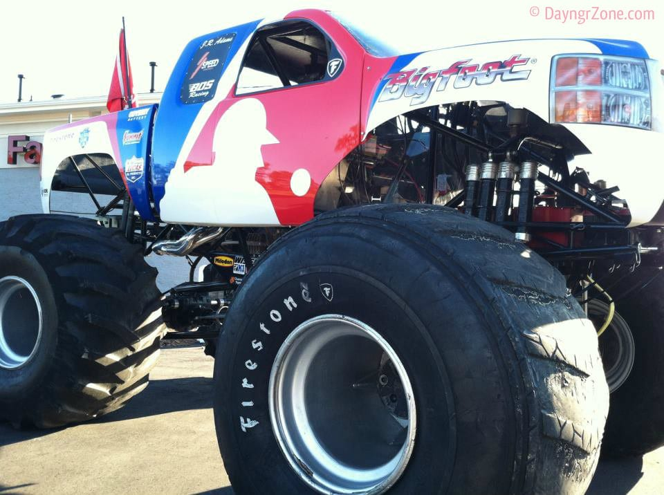 monster truck, bigfoot, crystal coast lifestyle
