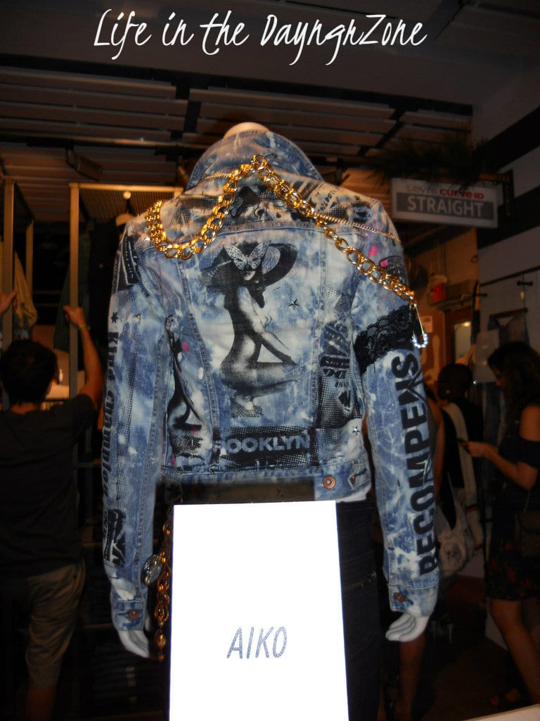 Beautiful Handpainted Jean Jacket