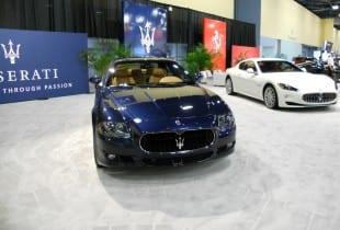 Blue Maserati