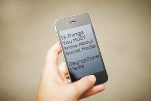 13 social media tips