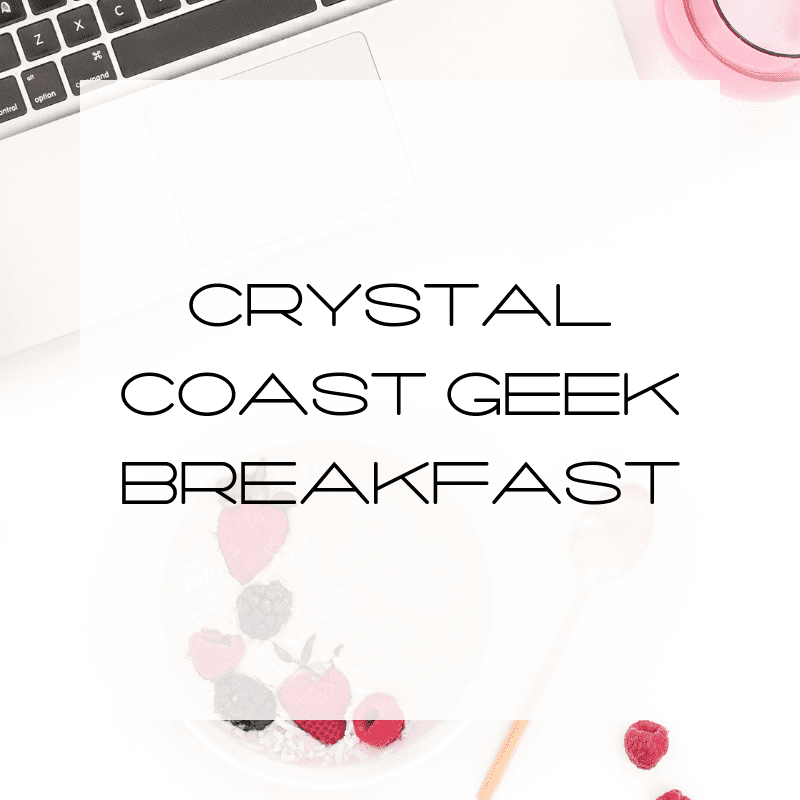 Geek Breakfast on the Coast