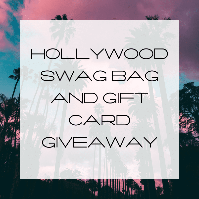 Swag Bag giveaway, brand influencer