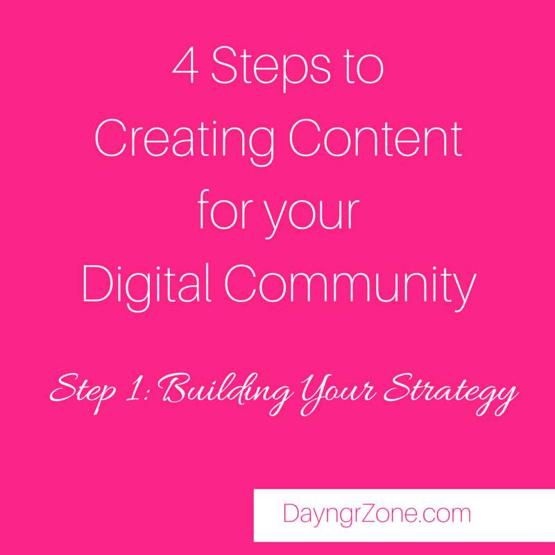 Creating Content for your Digital Community