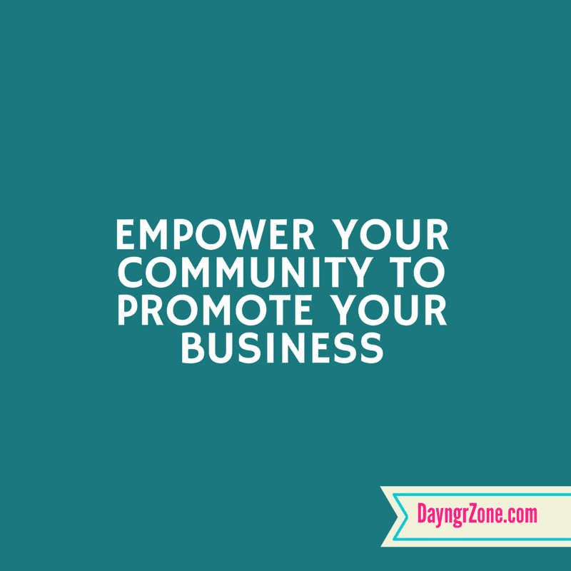 Quote about empowering your social media community