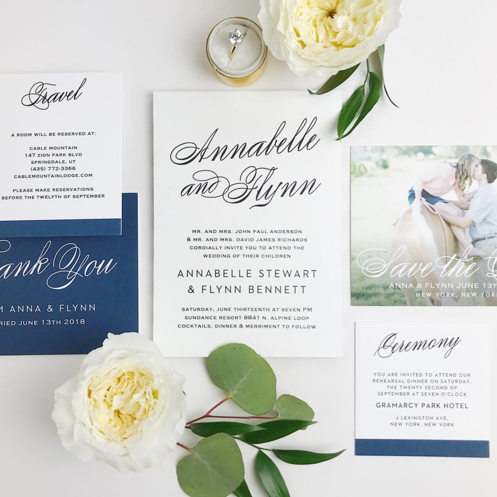 Basic Invite Wedding Invitation, Simple Wedding Invitations