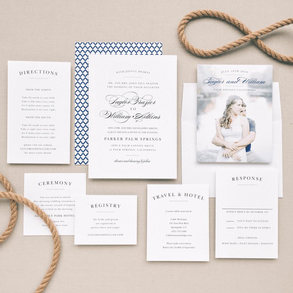 Wedding invitations, basic invite wedding invitations. simple but elegant wedding invitations