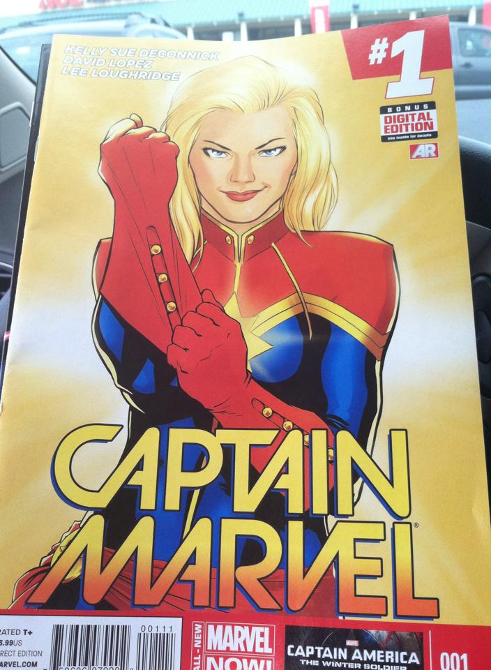 Captin-Marvel-Comic-Book, Captain Marvel.