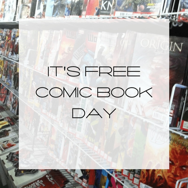 Comic Books, Free Comic Books, Free Comic Book Day