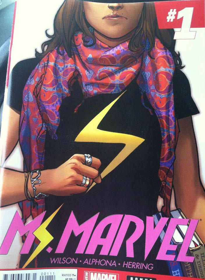 Ms-Marvel-Comic-Book, Ms Marvel