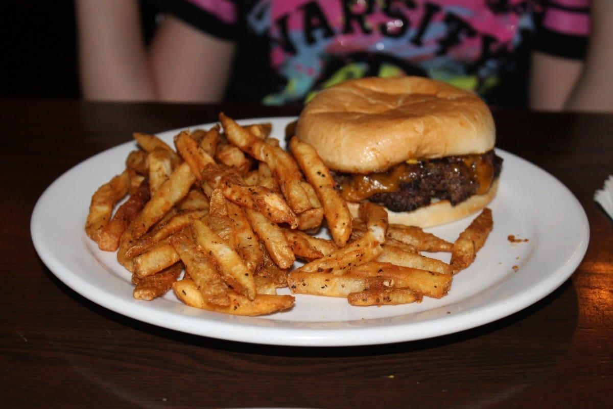 Kid-Friendly Food at Morgan's Tavern, Burgers at Morgan's