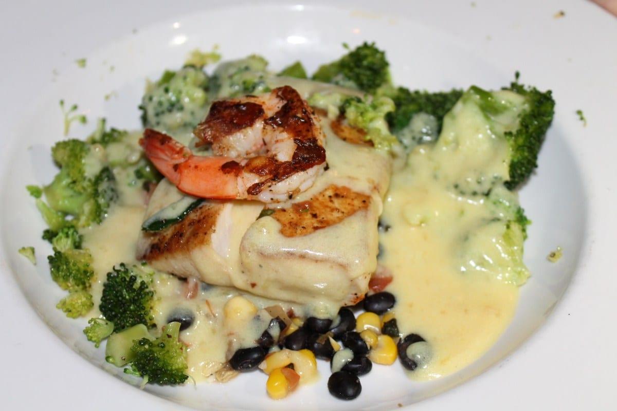 Fresh seafood at Morgan's Tavern