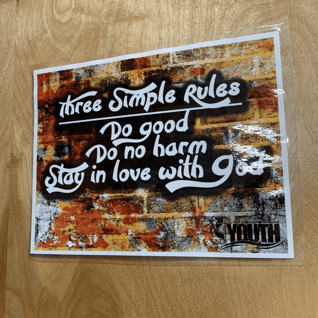 3 simple rules for life